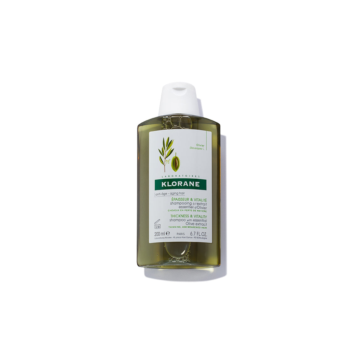 Klorane Shampoo with Essential Olive Extract