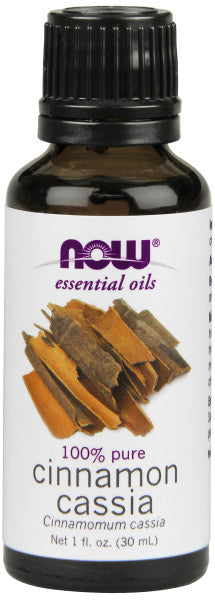 NOW  Cinnamon Cassia Oil - 1 oz.