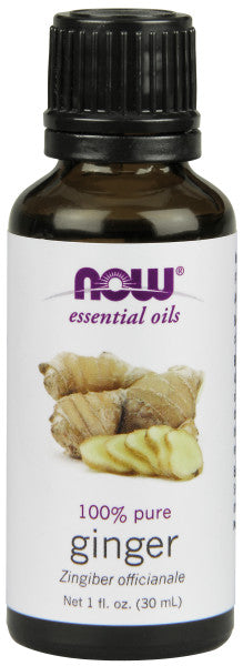 NOW  Ginger Oil - 1 oz.