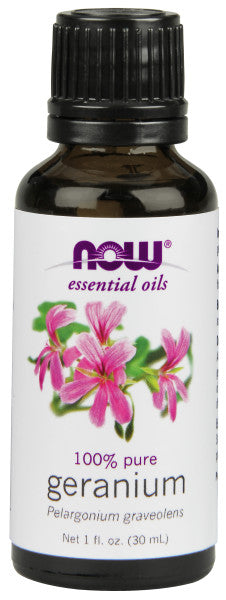 NOW  Geranium Oil - 1 oz.