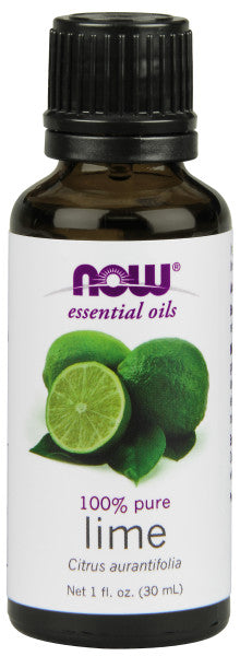 NOW  Lime Oil - 1 oz.
