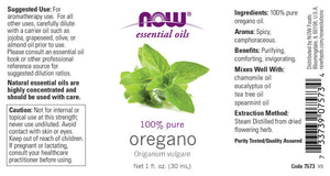 NOW  Oregano Oil - 1 fl. oz.