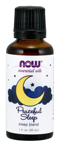 NOW  Peaceful Sleep Oil Blend - 1 fl. oz.