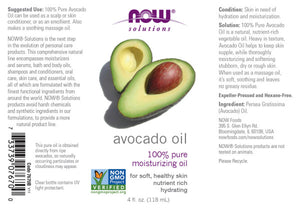 NOW  Avocado Oil - 4 fl. oz.