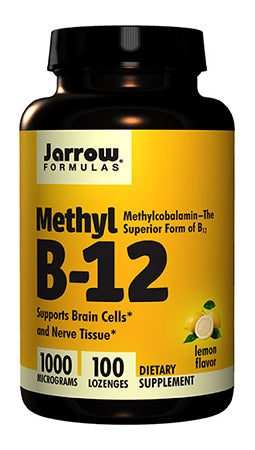 Methyl B-12 Lemon 100 Lozenges