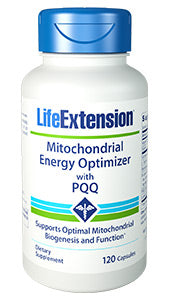 Mitochondrial Energy Optimizer with PQQ 120 capsules