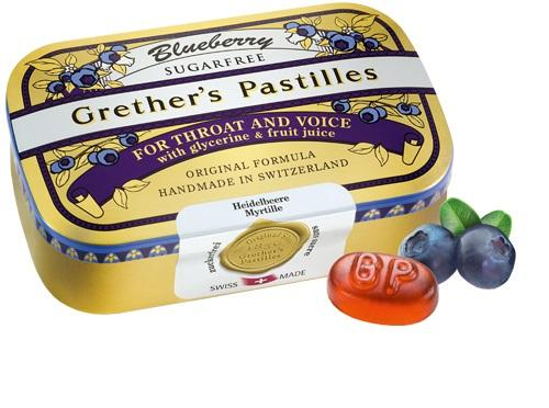 Grether's Pastilles Blueberry Sugarfree