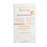 Avène Tinted Mineral Sunscreen Fluid SPF 50+ , 1.3 oz
