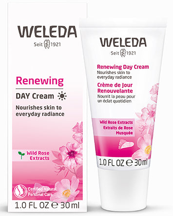 RENEWING DAY CREAM - WILD ROSE , 1.0 OZ