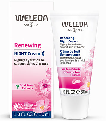RENEWING NIGHT CREAM - WILD ROSE , 1.0 OZ
