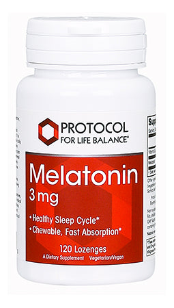 MELATONIN 3mg CHEW 120 Lozenges