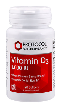 VITAMIN D3 1000 IU 120 Softgels