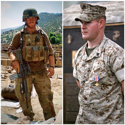 MARINE OF THE WEEK // FOUGHT OFF 200 TALIBAN: