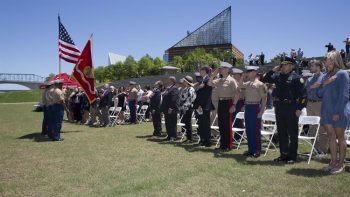 Two Marines Killed in Chattanooga Shooting Receive Highest Non-Combat Award