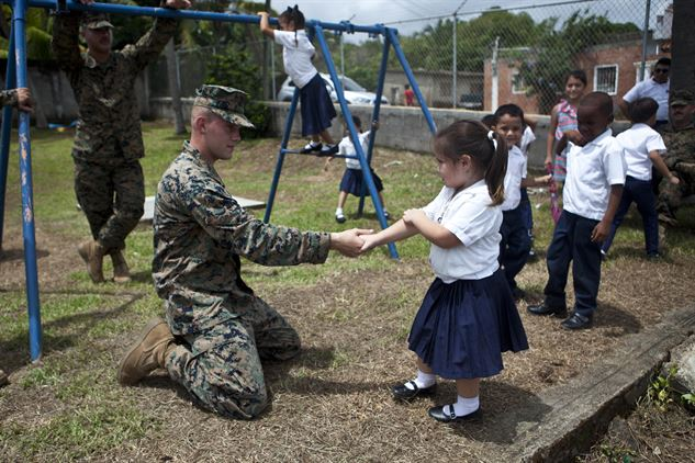 U.S. Marines Complete School Projects in Honduras