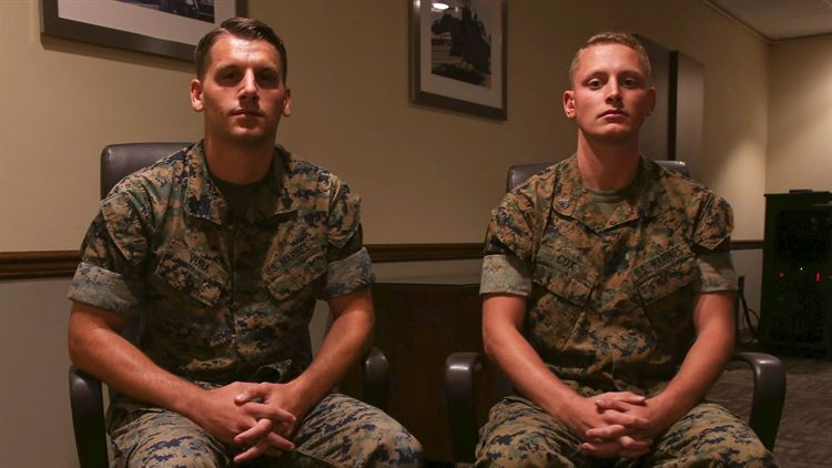 Courage Amidst Tragedy: Marines React, Save Lives