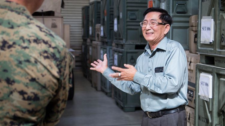 Former Interpreter Visits Unit 51 Years Later