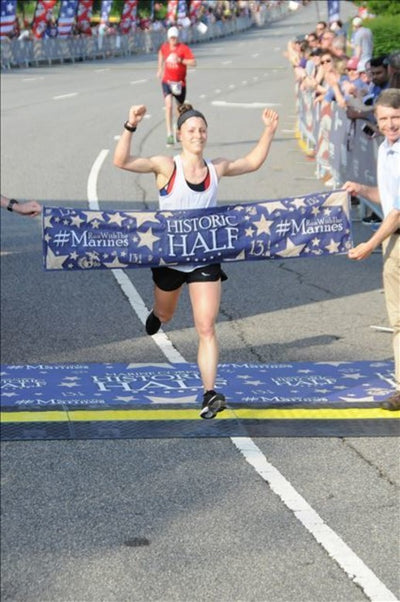Marine Corps Athlete of the Year Tops All Female Finishers at Historic Half