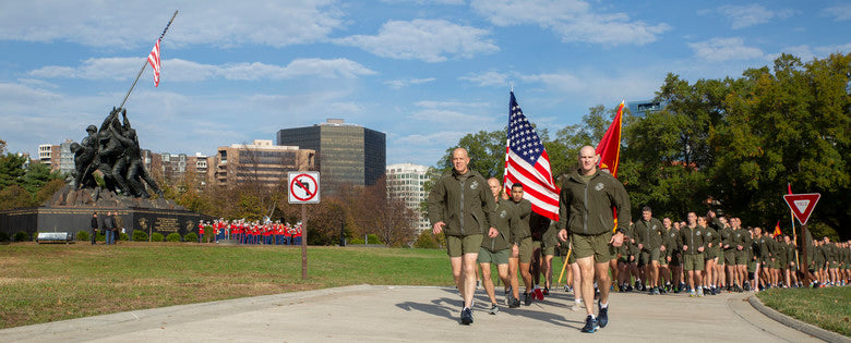 MARINE CORPS BIRTHDAY RUN BEGINS WEEK OF CELEBRATIONS