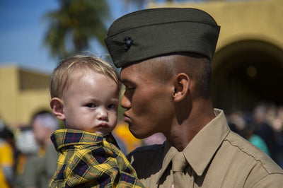 MARINE CORPS RECOGNIZES APRIL AS MONTH OF THE MILITARY CHILD