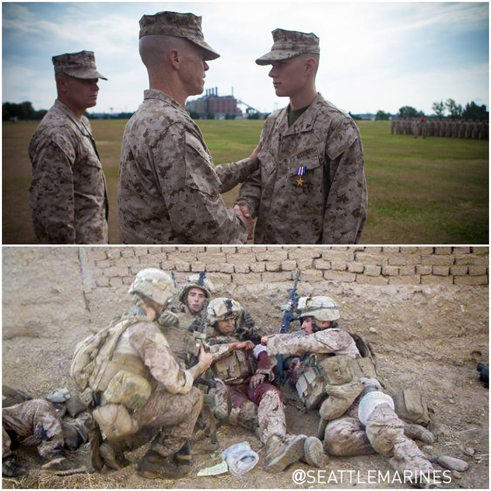 "Marine of the Week // ""I heard screams that the enemy was advancing toward us"""