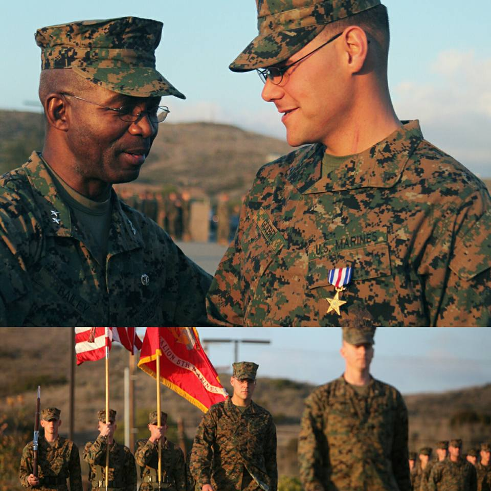 Marine of the Week // Shot In Neck, Keeps Fighting