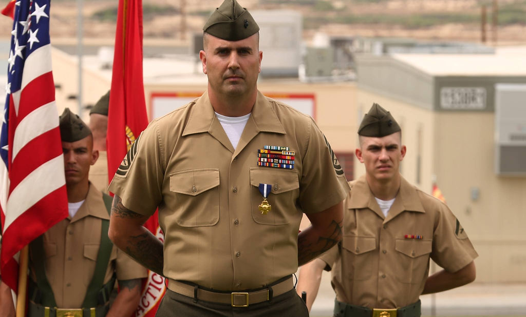 Marine of the Week // Led Men from Three Countries Through a Five Hour Firefight