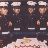 Some Photos of the Marines Celebrating their Birthday!