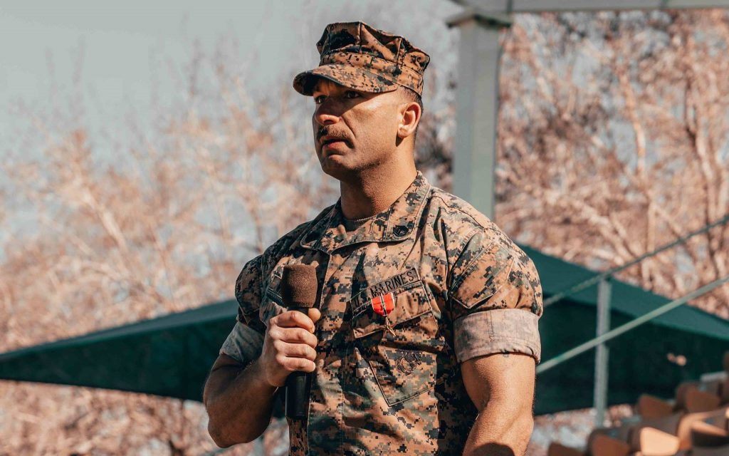 MARINE OF THE WEEK // In the fight against ISIS
