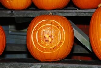 USMC Seal Pumpkin