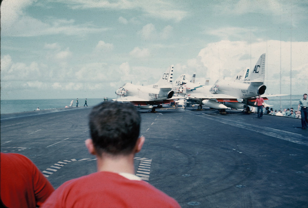 VMA 225 On Board the USS Enterprise CVAN-65 during the Blockade of Cuba in 1962