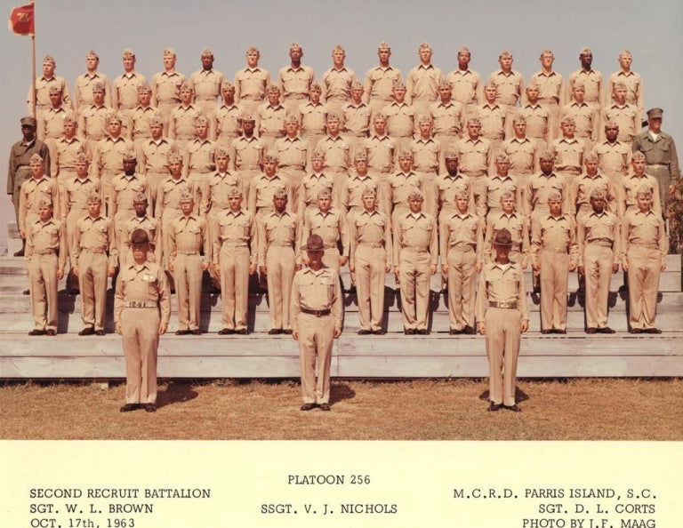 Lost and Found Plt 256, MCRD PI 1963