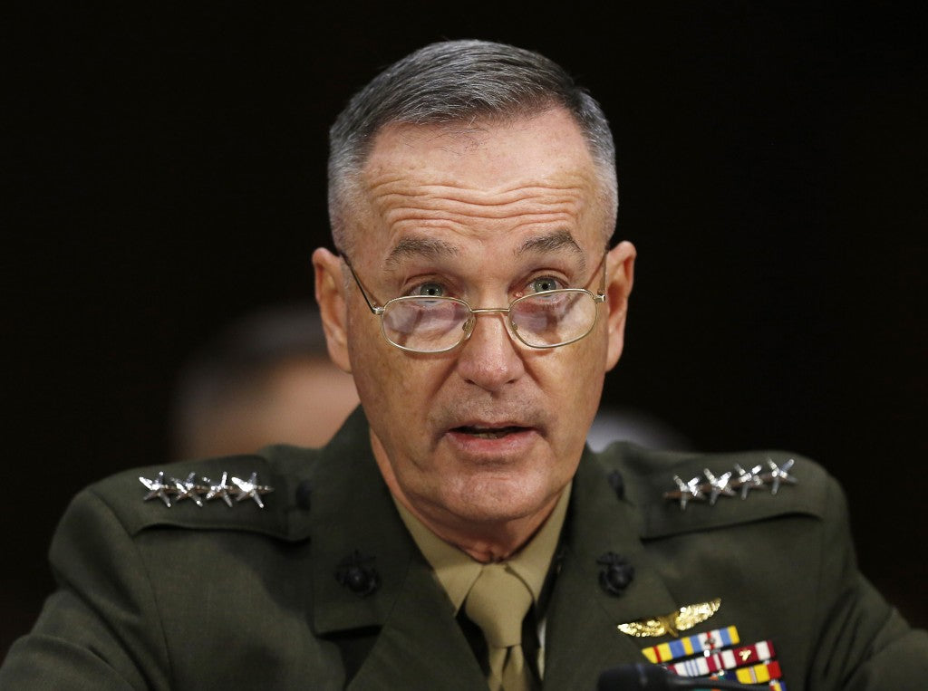 A Letter I Sent to Commandant Dunford
