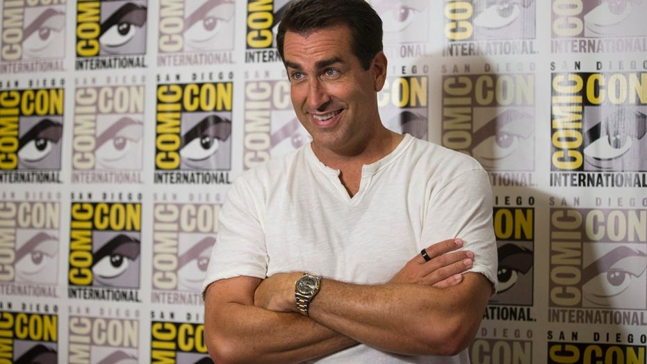 How Serving in the Marine Corps Helped Prepare Rob Riggle for Hollywood