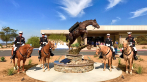 Camp Pendleton unveils Staff Sgt Reckless monument