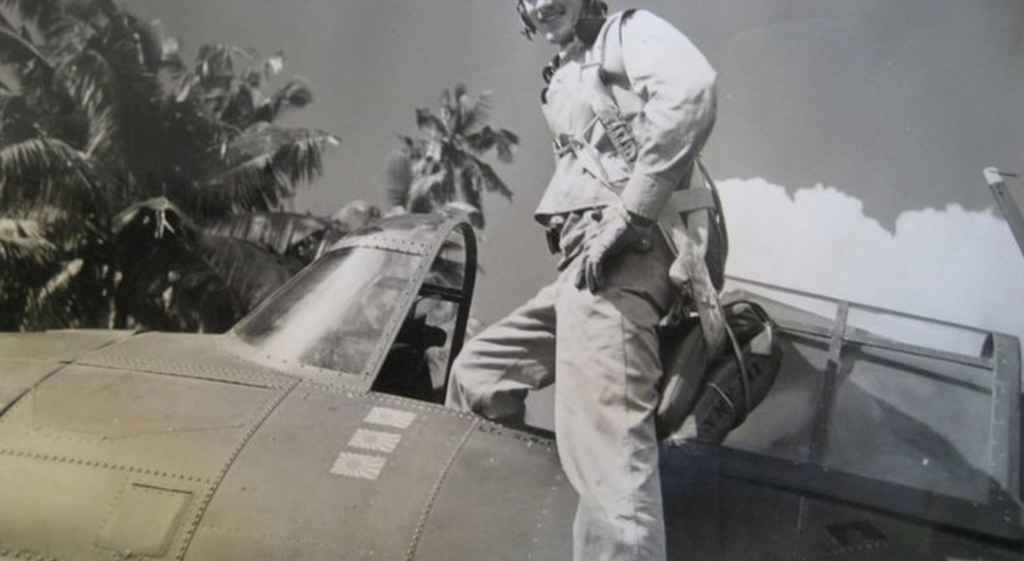 One of the Last Living WWII Marine Fighter Pilots
