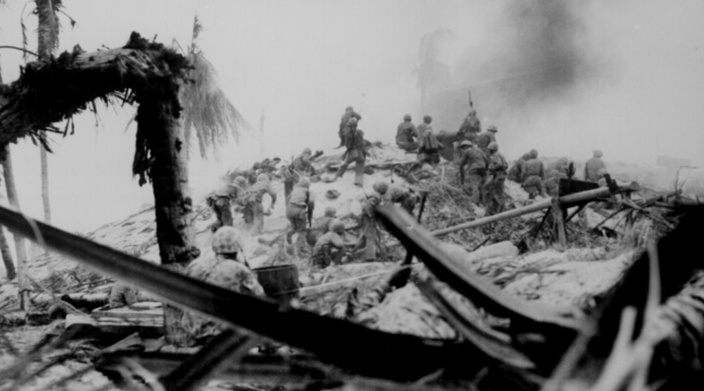The Fight for Tarawa: 75th Anniversary of One of the Bloodiest Battles in the Pacific Theater of WWII