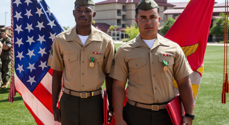 Courage Compels Combat Engineer Marines to Save Lives