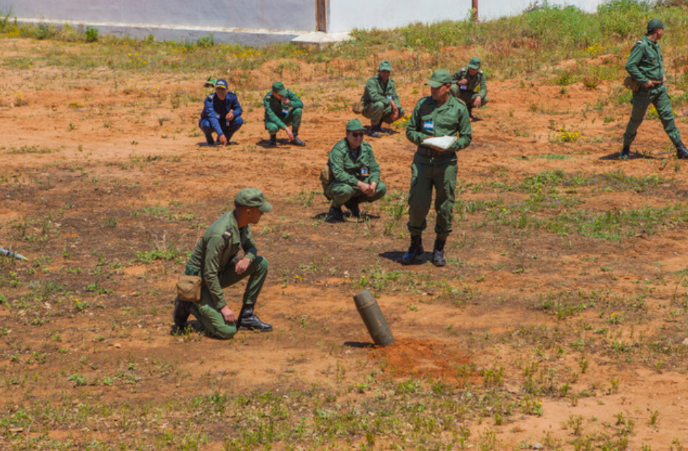 Humanitarian Mine Action in Morocco