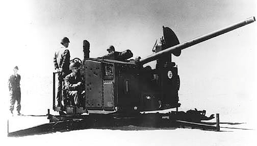 1st 75mm Anti-Aircraft (SkySweeper) Battalion in 29 Palms, CA