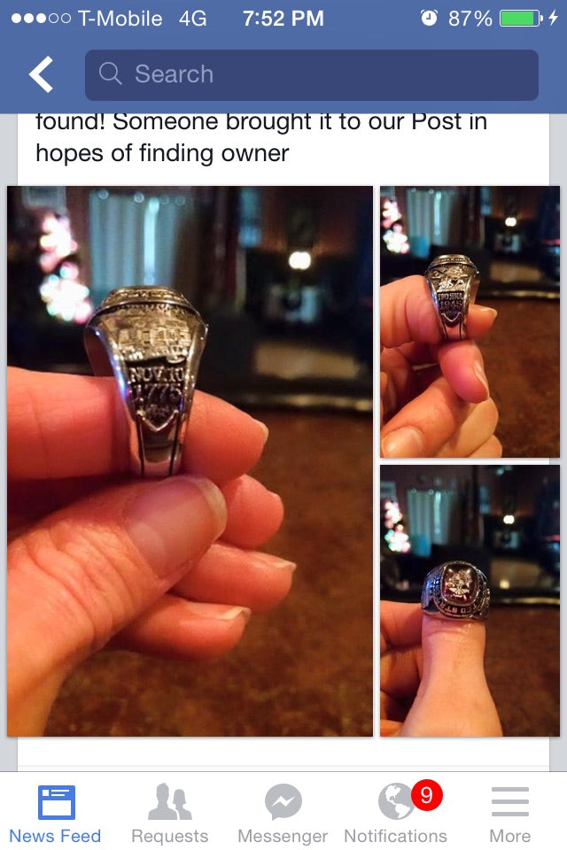 Did Someone Lose A Ring