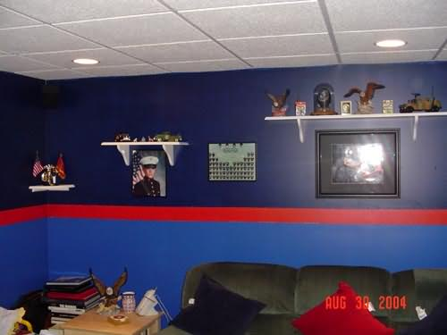 Dress Blue Basement