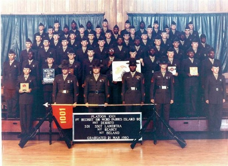 35th Anniversary of MCRD PI Graduation of Plt 1001