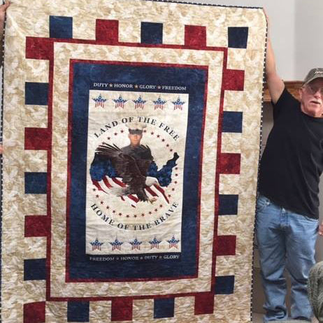 Quilt Of My Grandson