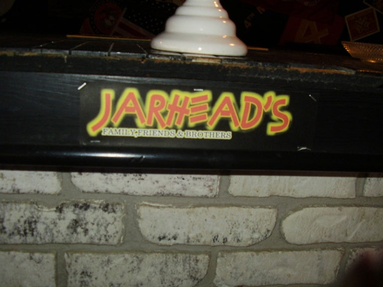 This is Jarheads bar!