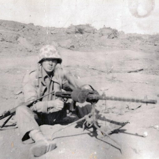 62nd Seabee Norman Baker on Iwo Jima​