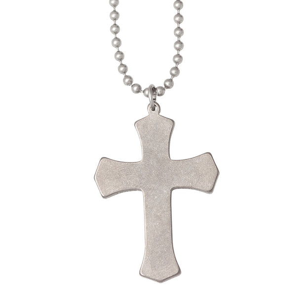 Military Issue Stainless Steel Warrior Cross