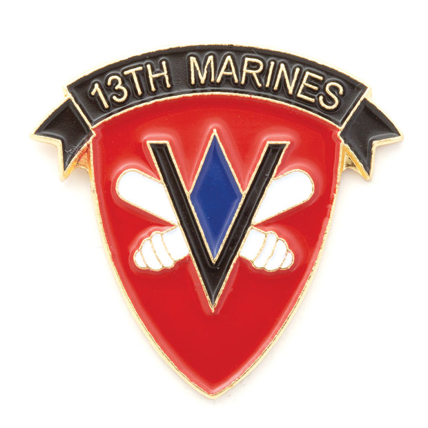 13th Marine Regiment Pin