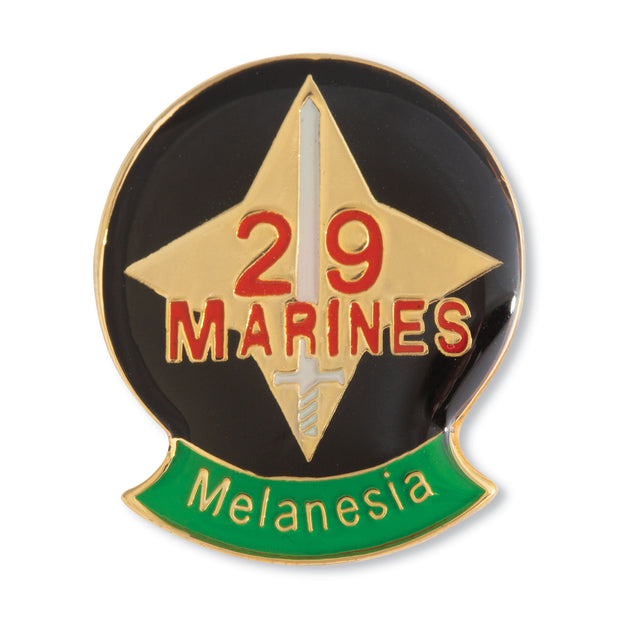 Melanesia - 29th Marine Regiment Pin