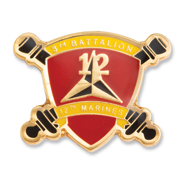 3rd Battalion 12th Marines Pin